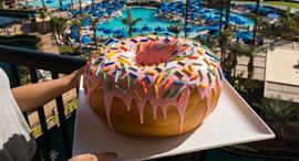 דונאט הכי גדול בעולם, צילום: Foodbeast