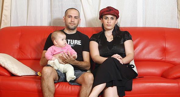 משפחת בראונר לפני 7 שנים, צילום: אוראל כהן