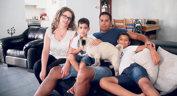 משפחת בנדרקר, צילום: יריב כץ