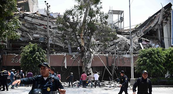 ככה זה נראה במקסיקו, צילום: איי אף פי