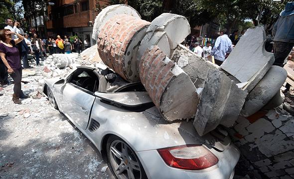 רעידת האדמה במקסיקו, הערב