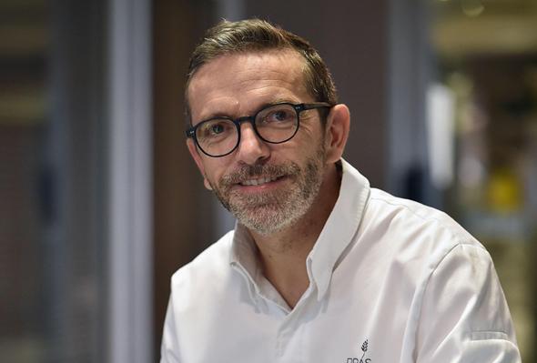 השף הצרפתי סבסטיאן בראס. צעד נדיר