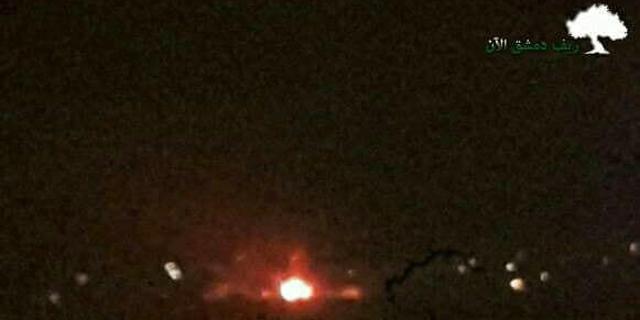 """דיווחים בסוריה: """"ישראל תקפה מחסן נשק בנמל התעופה בדמשק"""""""