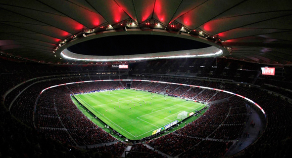 Wanda Metropolitano Atlético Madrid's new stadium. Photo: EPA