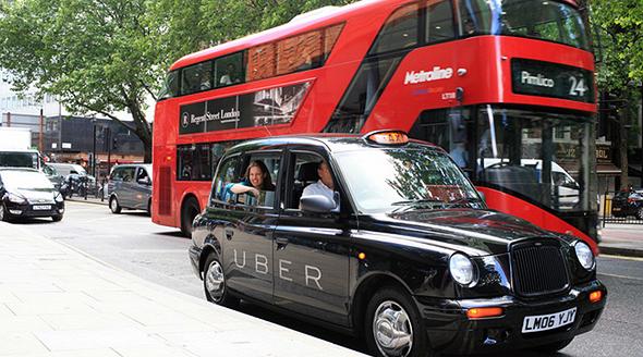 אובר לונדון מונית, צילום: Uber