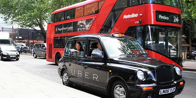 """רישיון הפעילות של אובר בלונדון נשלל: """"איפשרה לנהגים לא מאומתים לאסוף נוסעים"""""""