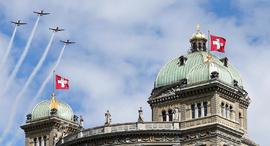 שווייץ בנין פרלמנט ברן, צילום: רויטרס