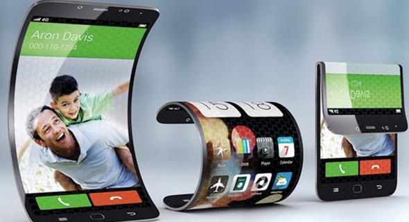 עיצוב קונספט של הטלפון המתקפל שמפתחת סמסונג, צילום: The Droid Review