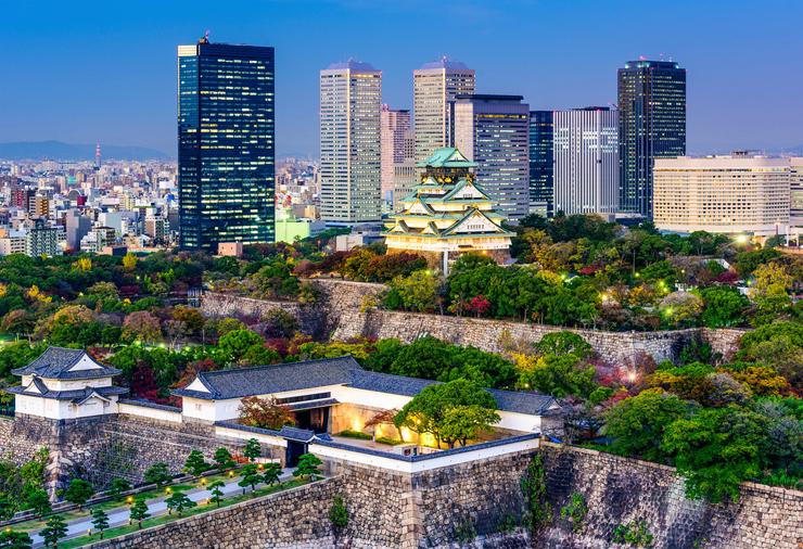אוסקה, יפן, צילום: insideosaka