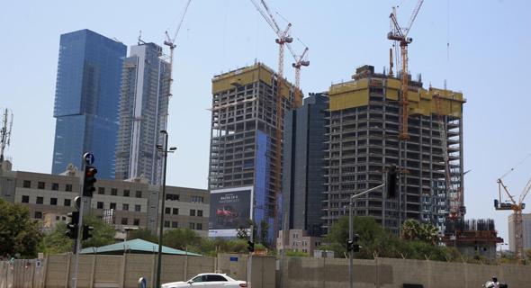 מגרש תעש ערבי נחל פינת יגאל אלון תל אביב, צילום: אוראל כהן