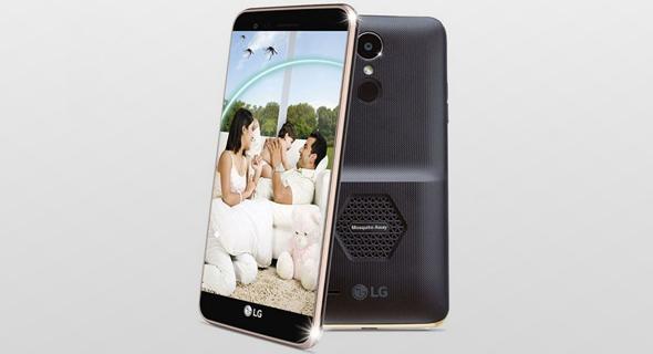 LG סמארטפון נגד יתושים