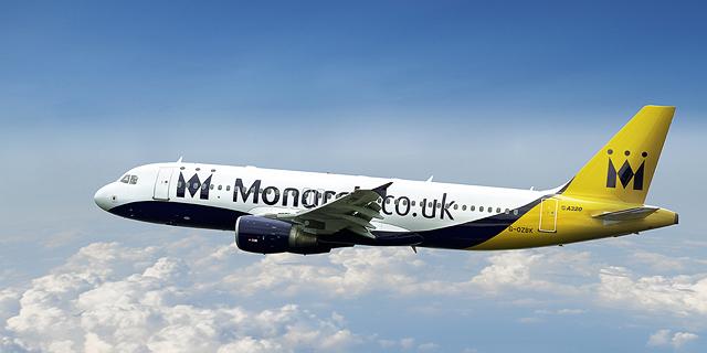 חברת התעופה הבריטית מונרך על סף קריסה