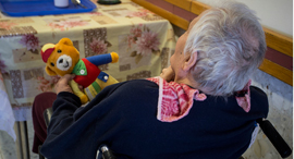 קשישה קשישים סעודיים סיעוד, צילום: גיל נחושתן