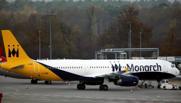 מטוס של מונרך איירליינס