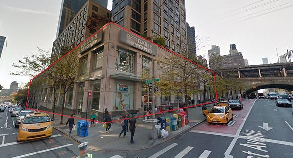 נכס קנייה גזית גלוב ניו יורק, צילם: גוגל
