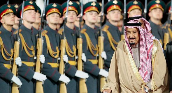 מלך סעודיה ברוסיה, צילום: איי פי