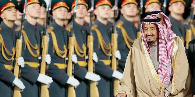 ביקור מלך סעודיה ברוסיה צפוי להניב עסקאות ב-3 מיליארד דולר