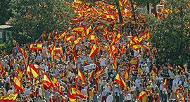 הפגנות בקטלוניה , צילום: גטי אימג'ס