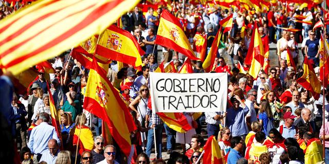 שלושה צעדים שספרד עשויה לנקוט בהם אם קטלוניה תכריז הערב על עצמאות