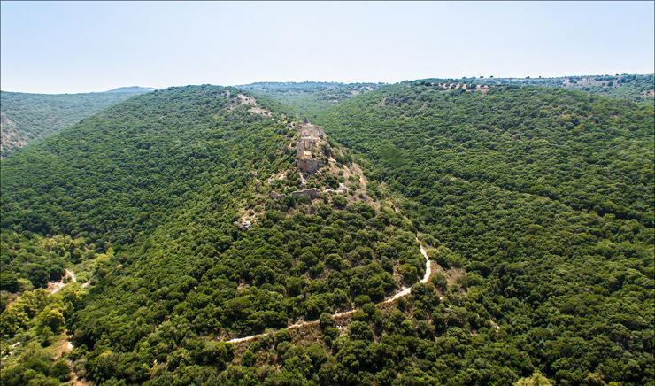 מצודת מונפורט, צילום: lookatisrael