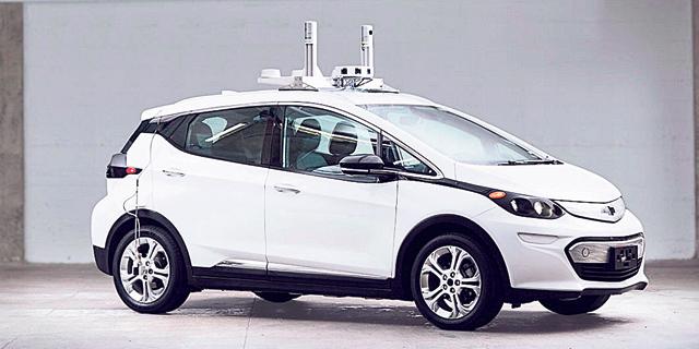 רכב אוטונומי של GM, צילום: יצרן