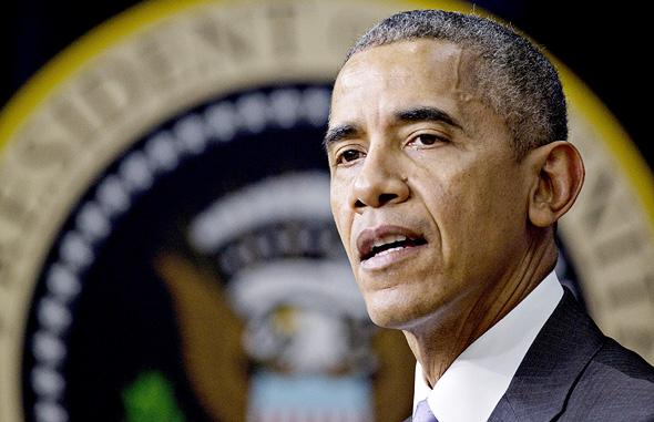 """אובמה. הממשלה צריכה לדאוג ל""""מגרש משחקים מאוזן"""", צילום: בלומברג"""