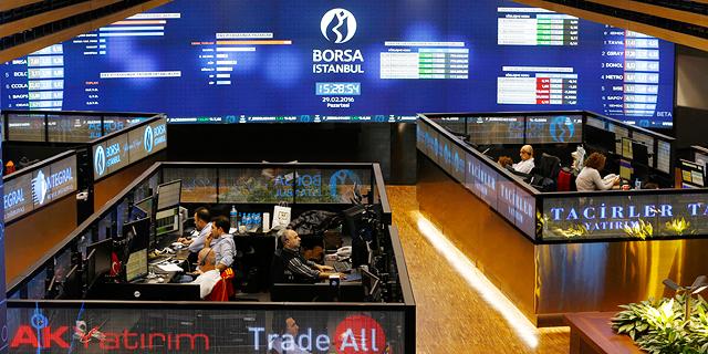 הבורסה באיסטנבול, צילום: רויטרס