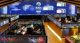 הבורסה באינטסבול , צילום: בלומברג
