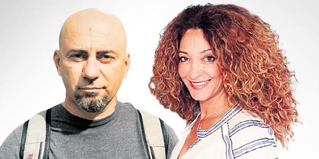 משמאל: שי בן יצחק ואורנה אלוביץ'