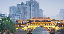 """צ'נגדו Chengdu סין מחירי נדל""""ן, צילום: wendywutours"""