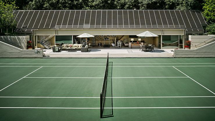 מגרש הטניס, צילום: Coldwell Banker
