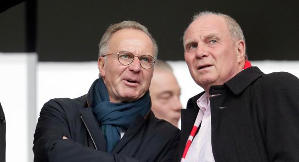 """""""אני מקווה שהכדורגל הגרמני יפטר מחוק ה־50+1 אחד"""" אמר מנכ""""ל באיירן מינכן,  קרל היינץ רומינגה בראיון למגזין GQ.  """"אני רוצה עוד תחרות"""", צילום: איי פי"""