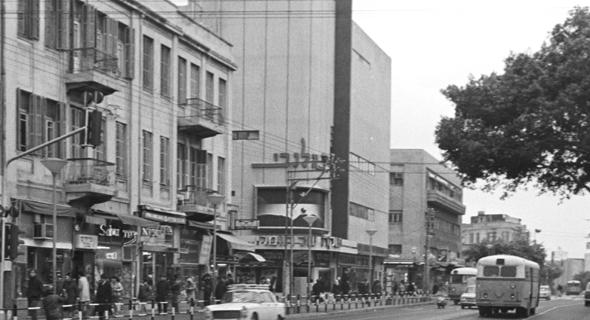 קולנוע אלנבי בשנת 1969