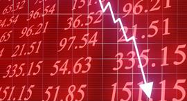 בורסה מניות ירידה גרף גראף, צילום: שאטרסטוק