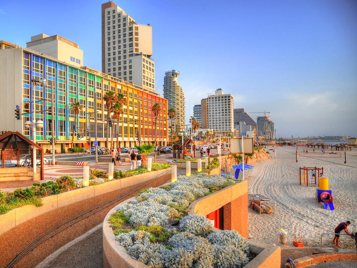 טיילת של תל אביב, צילום: שאטרסטוק