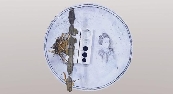 מתוך התערוכה של רונית אגסי שאצר פישר בבית אנה טיכו