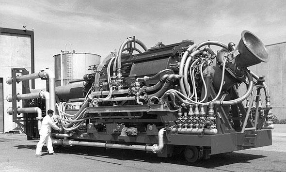 מנוע כור הראם-ג'ט האמריקאי, בשלבי ניסוי