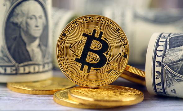 Bitcoin. Photo: Shutterstock