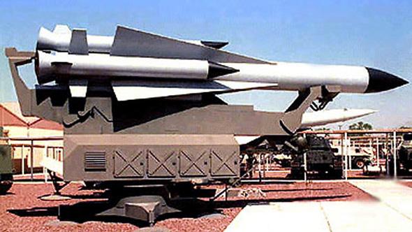 """סוללה סוללת נ""""מ  SA-5 סוריה צה""""ל טיל טילים, צילום: חיל האוויר האמריקאי בסיס נליס"""