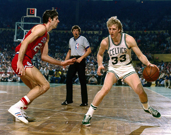 לארי בירד, שחקן NBA