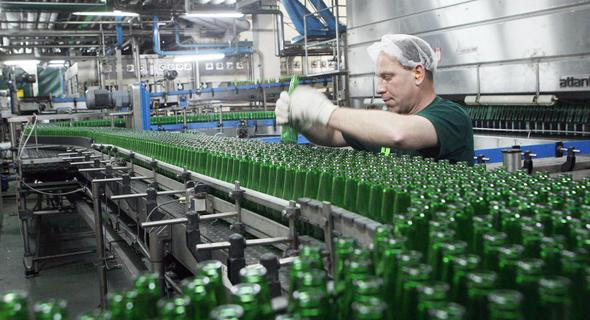 מפעל קרלסברג באשקלון, צילום: אוראל כהן