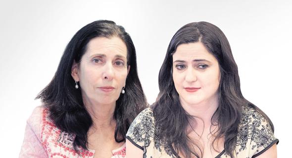מימין מיכל בירן ו דורית סלינגר, צילום: עומר מסינגר, אוראל כהן