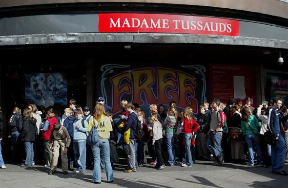 מוזיאון מדאם טוסו בלונדון, צילום: בלומברג