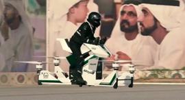 אופנוע מעופף דובאי, צילום: יוטיוב