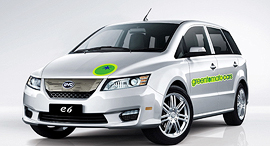 מכונית חשמלית של BYD