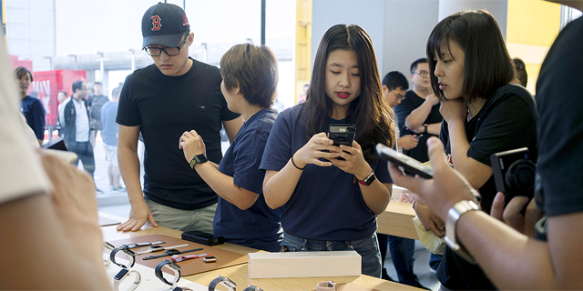 אפל מתאוששת: מכירות האייפון בסין זינקו ב-225% בהשוואה לרבעון הראשון