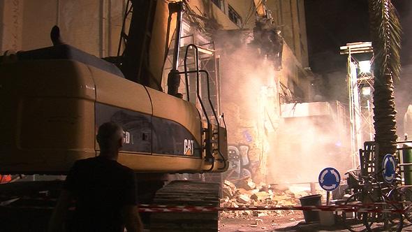 סופו של אייקון תל אביבי, קולנוע אלנבי נהרס