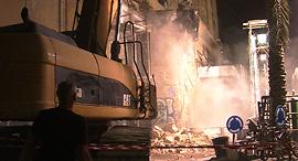 סופו של אייקון תל אביבי, קולנוע אלנבי נהרס, צילום: דור מנואל