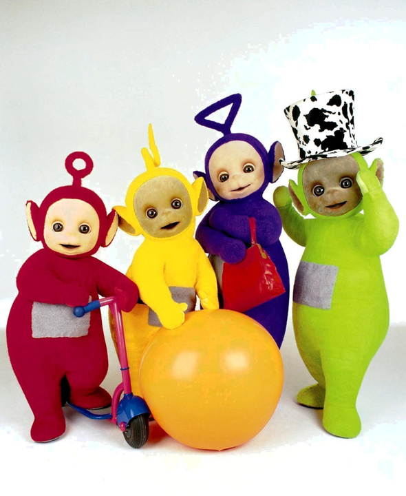 תוכנית הטלוויזיה לילדים טלטאבי , צילום: יחסיציבור