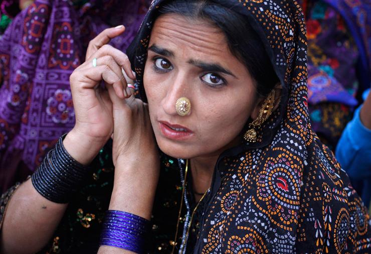 אישה בקראצ'י, העיר הגדולה ביותר בפקיסטן